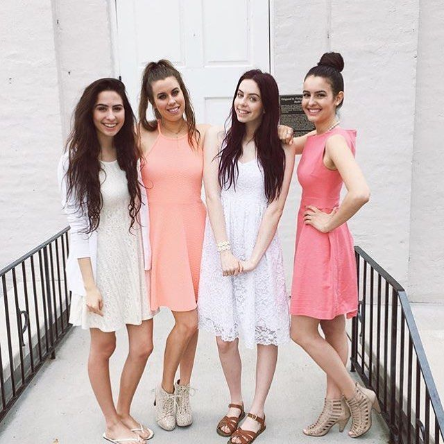 Lauren, Lisa, Dani and Christina