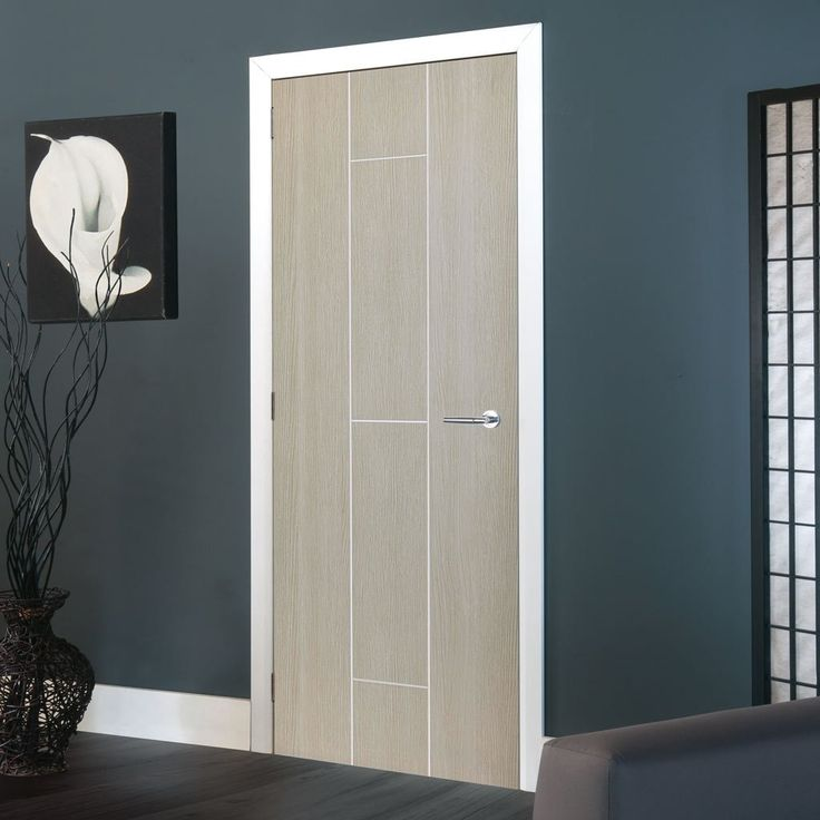 JBK Nuance Viridis Cream Flush Door, Pre-finished. #nuancedoor #jbkdoor #greydesignerdoor