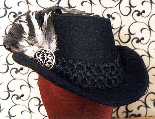 Elizabethan Man's Tall Hat