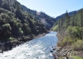The American River in Colfax, CA - http://www.placercountyhomesandland.com/colfax-homes-for-sale.php