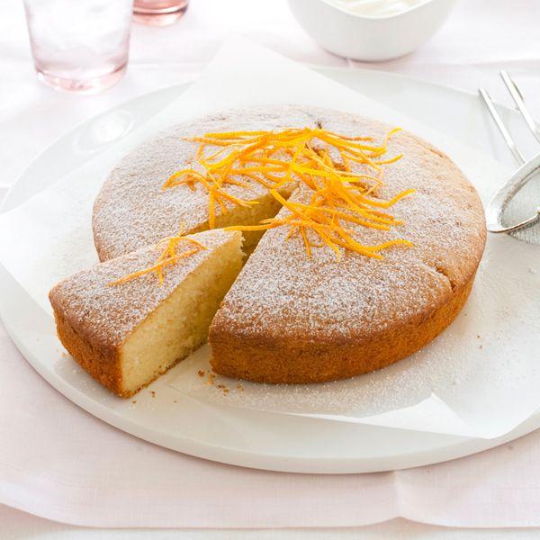 Κέικ με γιαούρτι και πορτοκάλι