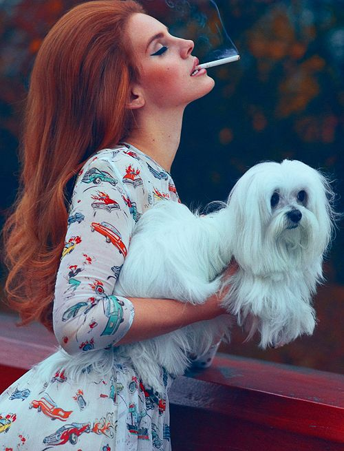 I never liked 60s style before Lana Del Rey.