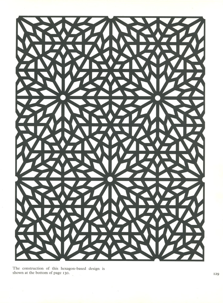 Pattern in Islamic Art - PIA 129