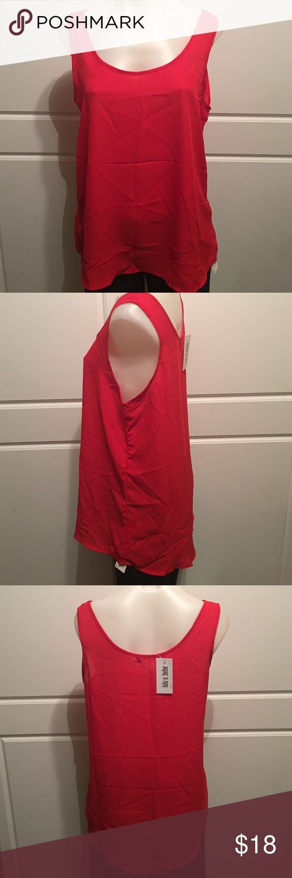 Best 10+ Red tank tops ideas on Pinterest | Chiffon cami tops ...