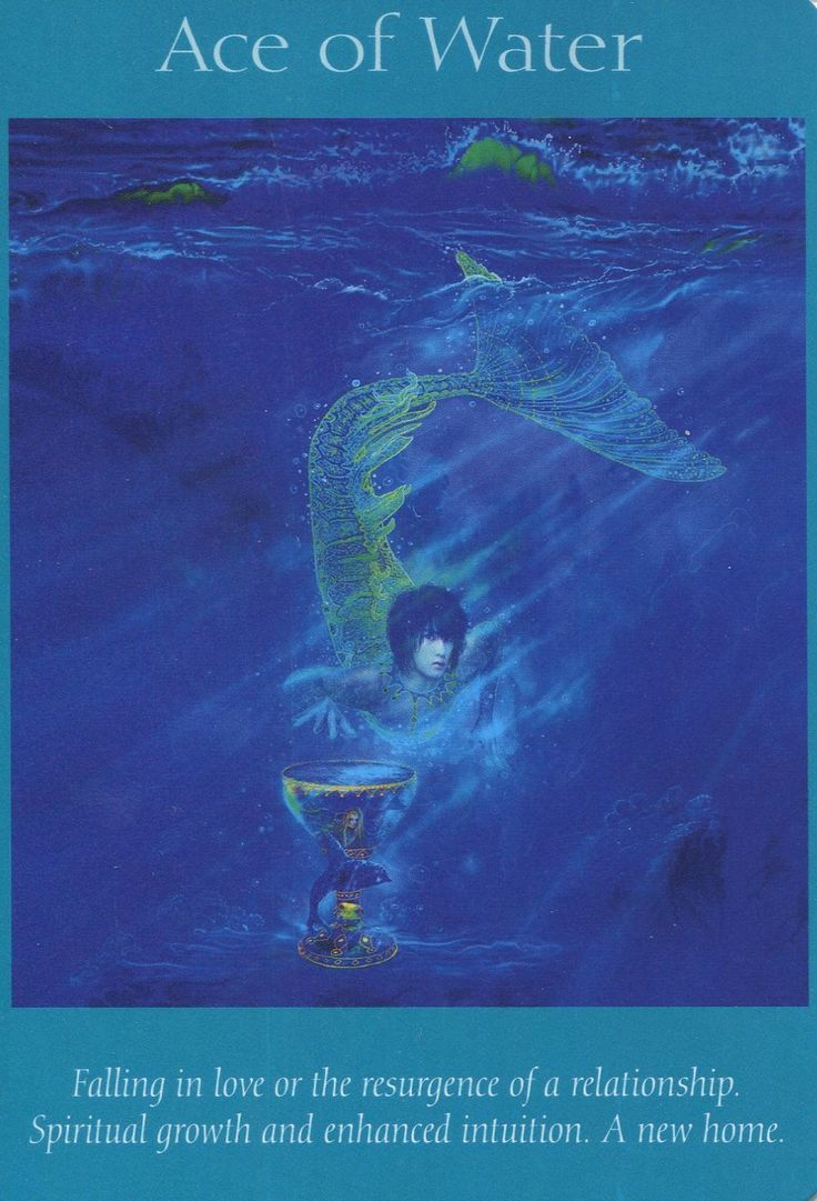 Angel Tarot Card - Ace Of Water