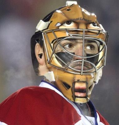 -Carey Price - NHL's best goalie masks
