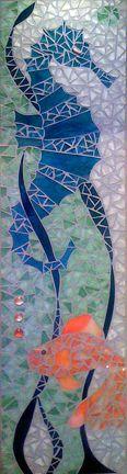 Artist Gina Dominguez of Snapshot Mosaics; http://www.snapshotmosaics.com/custominstallations1.htm#