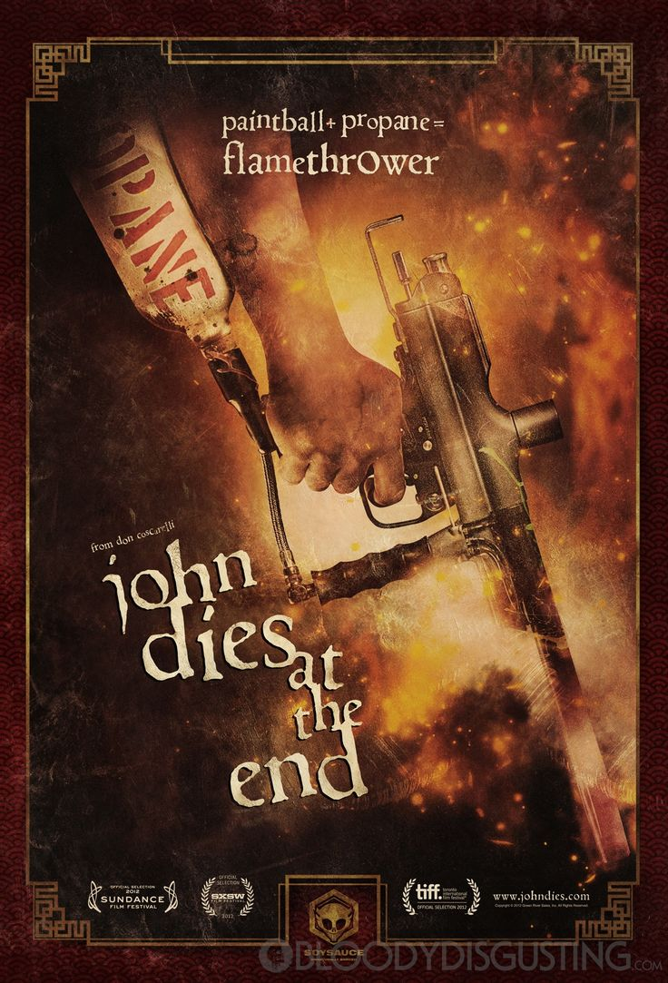 John dies at the end movie poster internet movie poster awards gallery