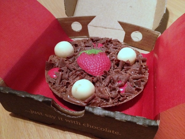 Gourmet Chocolate Pizza Company    This is chocolate indulgence at it's best! There's a flavour for everyone and even chocolate pizza's for occasions such as Easter or Valentines day!