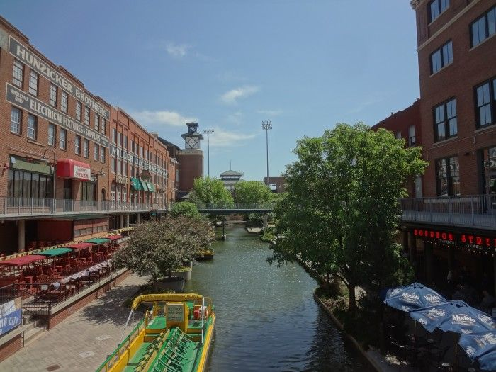 Oklahoma City, OK - Bricktown...an entertainment district in the heart of downtown.