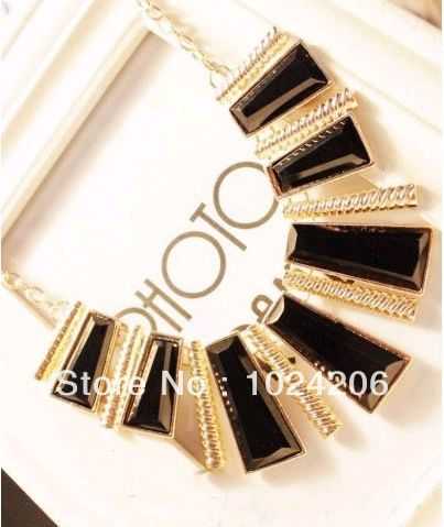 Find More Torques Information about 2014 New Coming Gold Alloy Fashionable Hollow Out Enamel Punk Statement Necklaces,High Quality Torques from XJD Store on Aliexpress.com