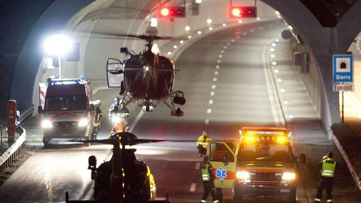 Rutte wil nieuw onderzoek naar bloed van chauffeur busramp Sierre | NOS