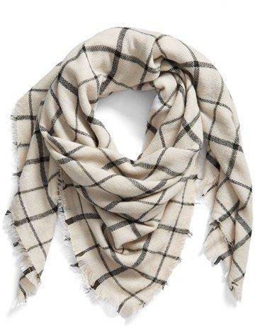 BP Check Scarf on Shopstyle.