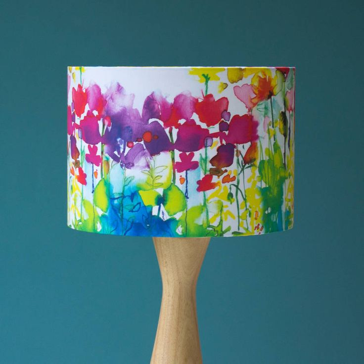 Butterfly Watercolour Lampshade  Bringing the outside in.