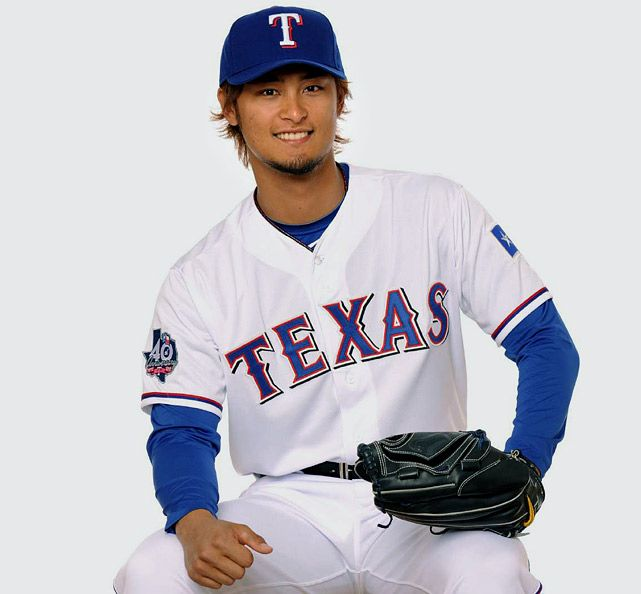 Yu Darvish, Texas Rangers - I am so excited to watch him play in the states.