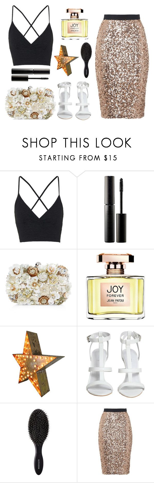 """""""Dreams Tatiana"""" by laska242007 ❤ liked on Polyvore featuring Topshop, Surratt, Accessorize, Jean Patou, Sephora Collection and French Connection"""