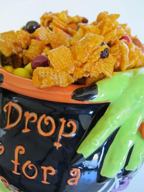 Halloween Hash - easy yummy treat!