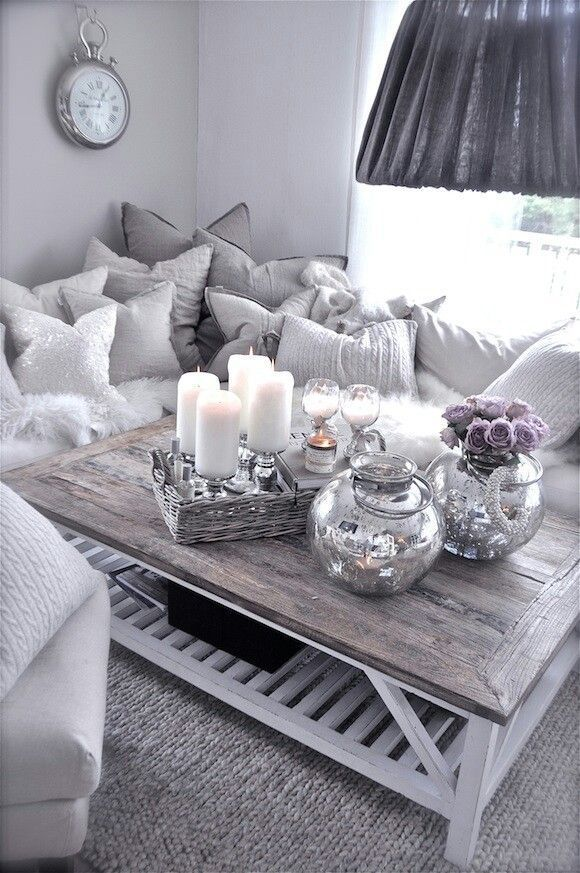 19 Apartment Decorating Ideas For A Beautiful Space Purple Living Room Living Room Themes Modern Living Room Interior Living room decor ideas grey