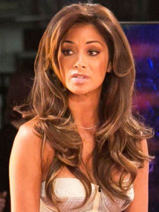 nicole scherzinger light hair - Soft layers