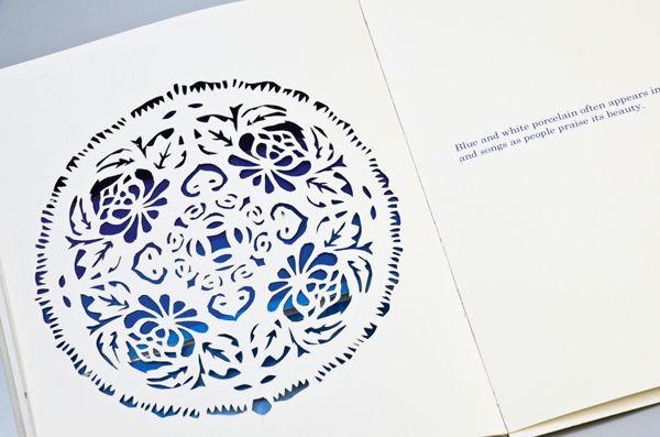 BLUE AND WHITE PORCELAIN by Delon Ko, via Behance