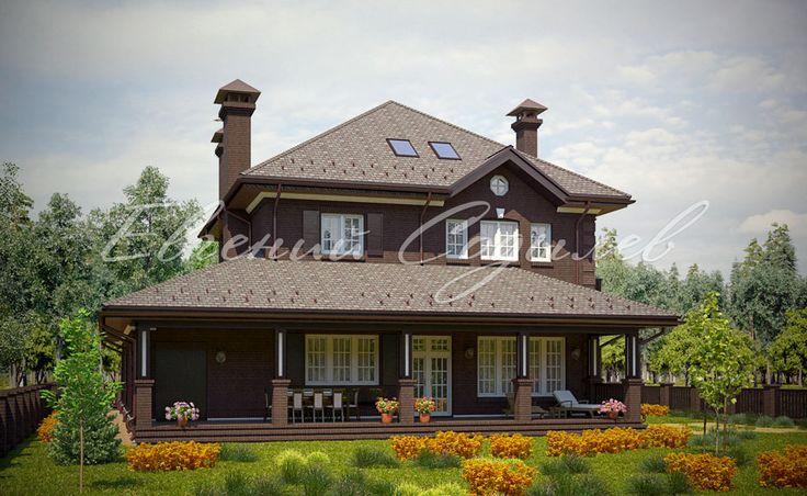 Проект дома в поселке Новорижский эдем фото-2 | Мастерская Евгения Содылева