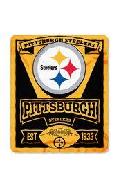 Pittsburgh Steelers  Marquee Fleece Blanket