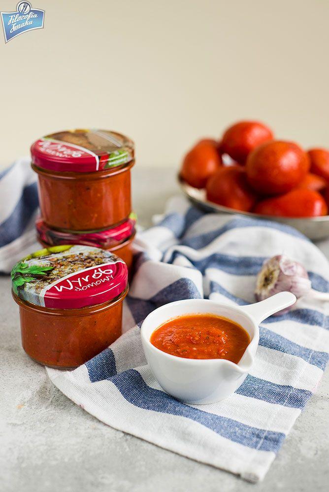 Sos pomidorowo-paprykowy na zimę