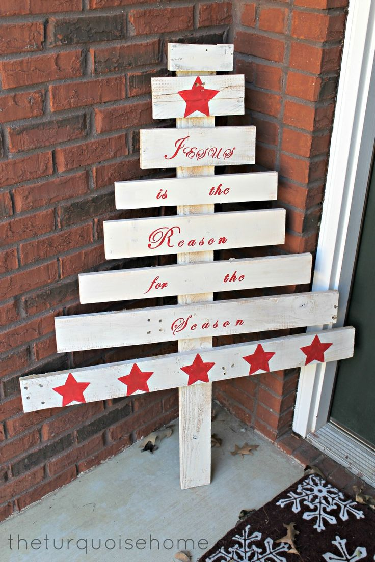Outdoor Christmas Decorations With Pallets : Best images about christmas yard art outdoor