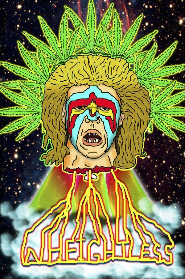 Ultimate warrior weed.   Cannabis Art   Stoner art, Art ...