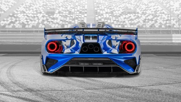 Mansory Strikes Again With Wild Take On The Ford Gt Supercar In