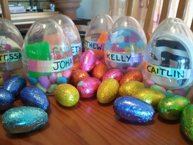 7 best adult easter egg hunt images on pinterest easter eggs easter hunt and party for adults plastic eggs filled with small gifts and choc mini negle Gallery