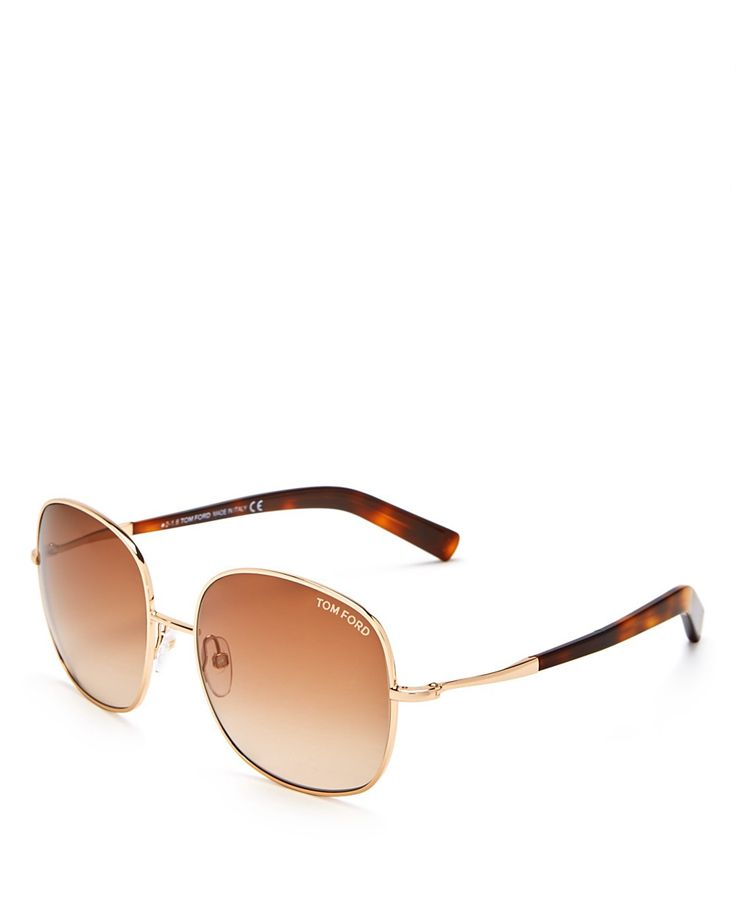 TOM FORD Tom Ford Oversized Square Sunglasses, 58mm. #tomford #all
