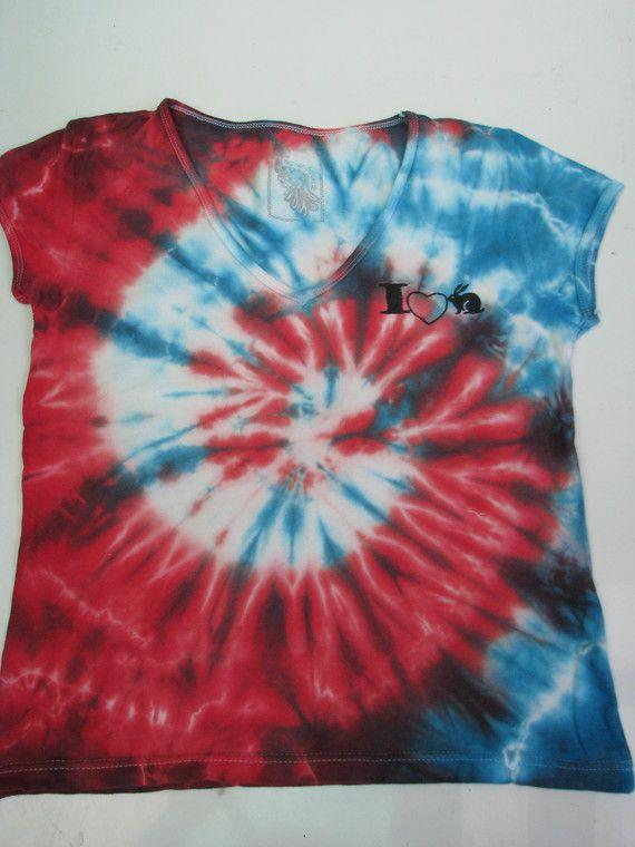 Tye Dyed T-shirt @ Home Spun