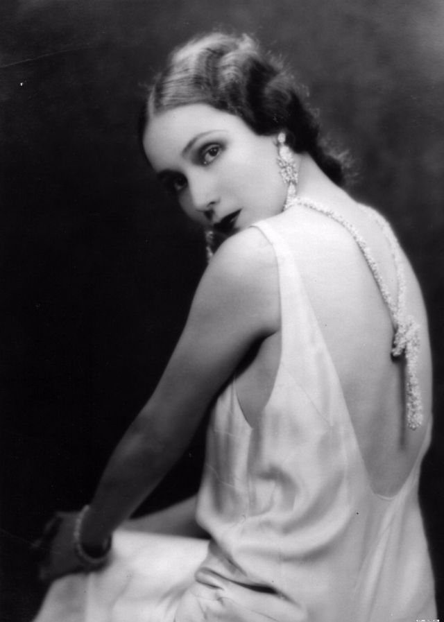 One of America's First Latina Film Stars: Glamorous Photos of Dolores del Río From the 1920s and 1930s