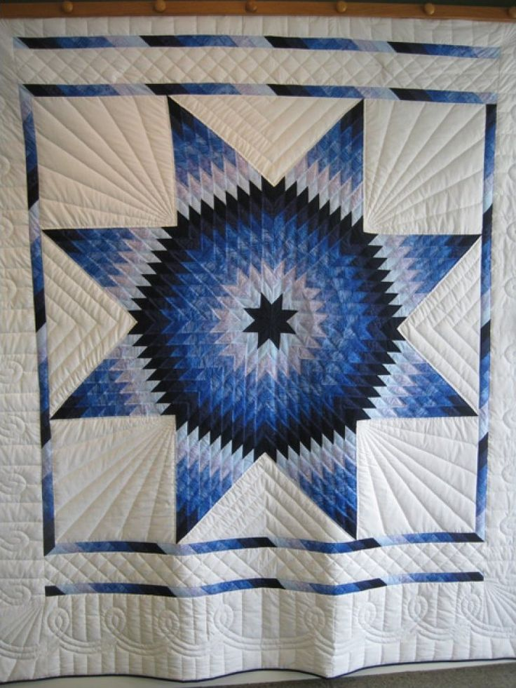 how to quilt star of bethlehem quilt | Lone Star - Hand Quilted by Amish stitchers SOLD!