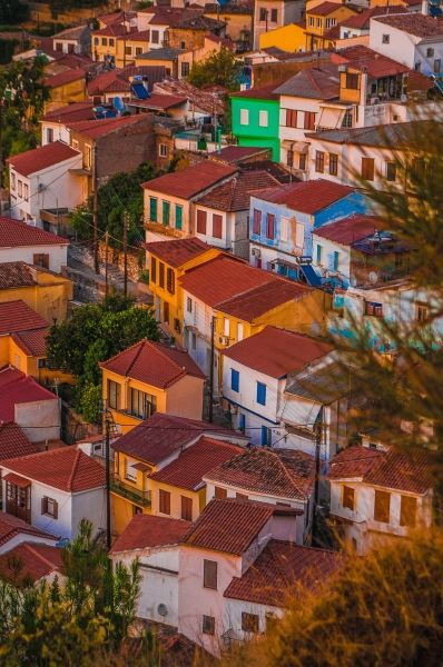 Red-tiled roofs