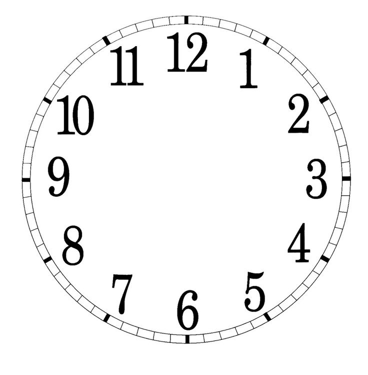 126 best CLOCKS PRINTABLE images on Pinterest DIY, Accessories - clock templates