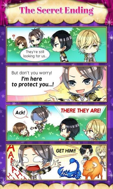 Bahahaha! Ikky! Teo looks even more pissed than Scorpio in that last one! Star Crossed Myth