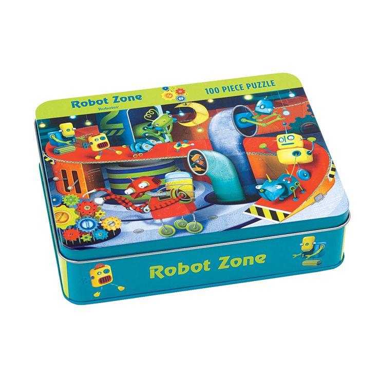 Robot Zone Robots Jigsaw Puzzle