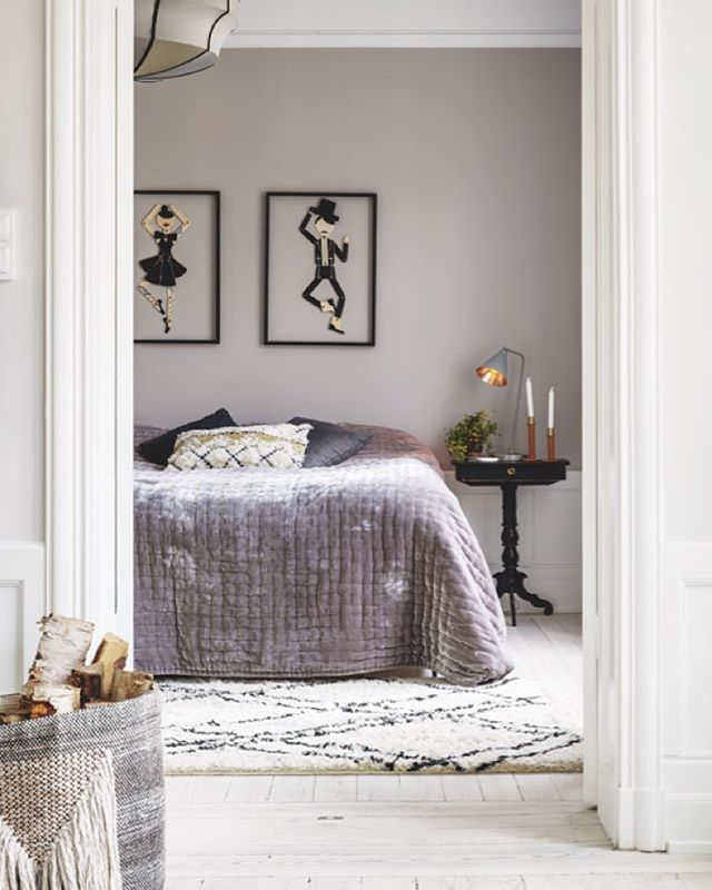 Blåsiga och ruskiga dagar är det extra mysigt med ett ombonat sovrum. Styling: Maria Nordin Foto: Camilla Lindqvist #plazainteriör