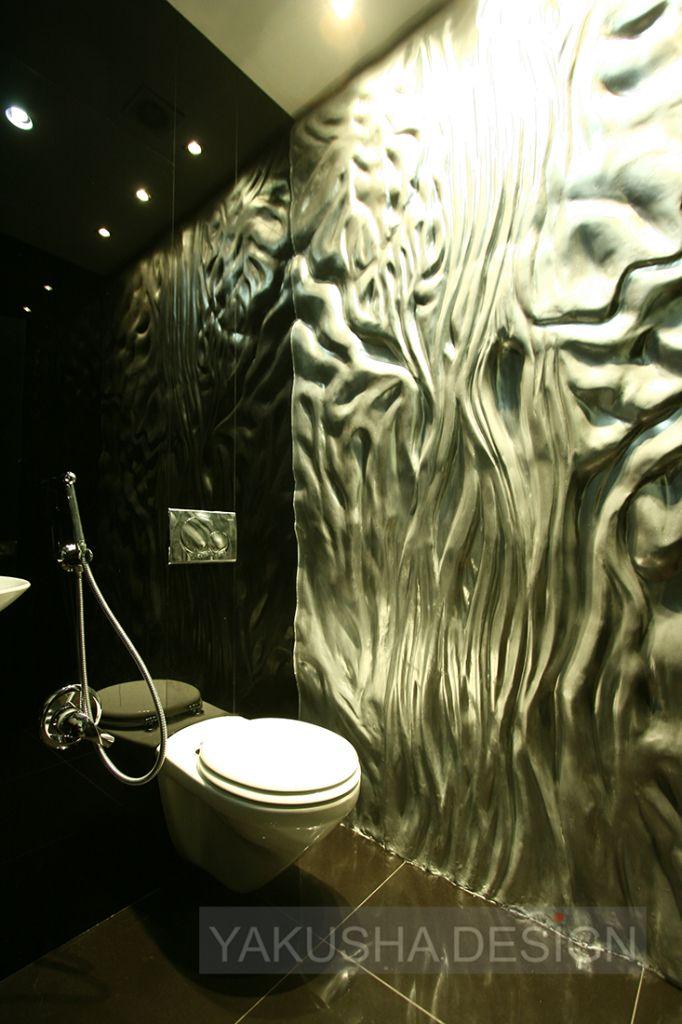 Bank. Bathroom. Created by Viktoria Yakusha and Yakusha Design Studio, 600 sq.m, located in Dnipropetrovsk, completed