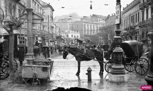 ΕΡΤ: Η Πατησίων 100 χρόνια πριν. (Φωτό) | Miva-rate Athens, Patission street, 100 years ago