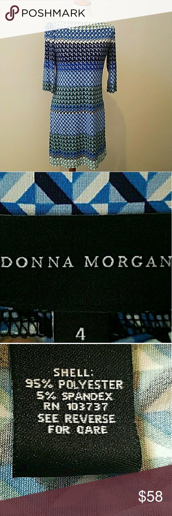 Stitch Fix Donna Morgan shift dress 4 Stitch Fix Donna Morgan shift dress. Size 4. Excellent like new condition. Donna Morgan Dresses