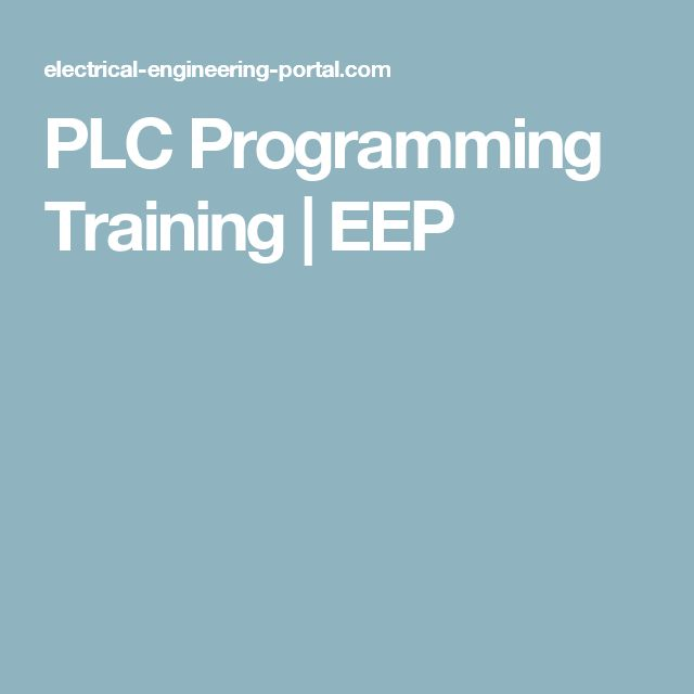 Popular PLC Programming Training EEP