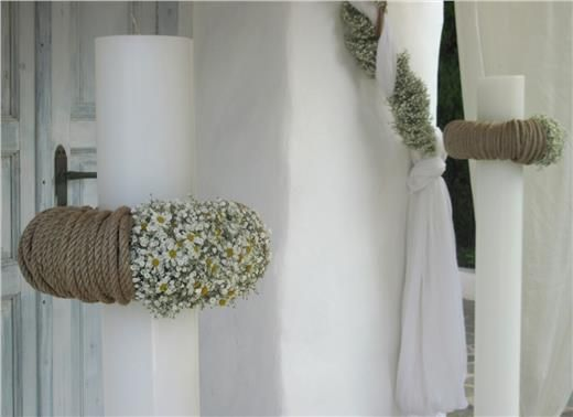 wedding decoration by KOKKINOS-flowwers.gr #wedding #gamos