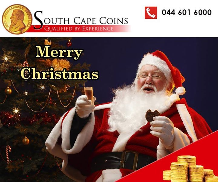 Merry Christmas from everybody at South Cape Coins. We wish you a day filled with joy, love and peace with your loved ones. #xmaswish #noel #holidays