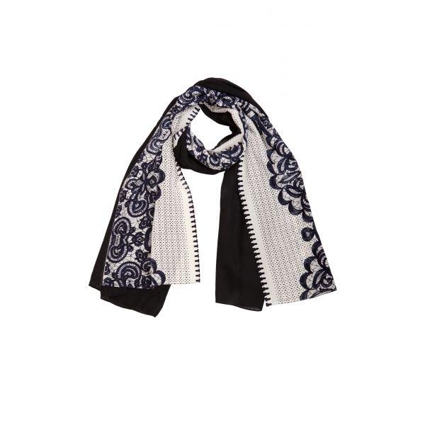 Florenz Pashmina Audrey Cashmere & Silk printed scarf