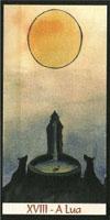 Cartas do Destino: Tarot da Wicca - carta A Lua