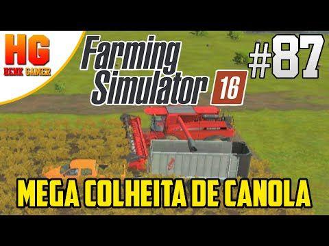 Farming Simulator 16 - Gameplay - Mega Colheita De Canola - Tablet - Android e Ios - PT-BR #87 - http://techlivetoday.com/android-tablet-reviews/farming-simulator-16-gameplay-mega-colheita-de-canola-tablet-android-e-ios-pt-br-87/