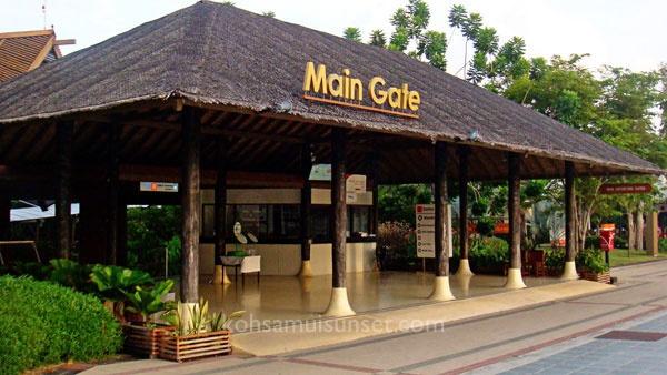 Koh Samui Airport - Main Gate.  #Samui #Thailand #Airport